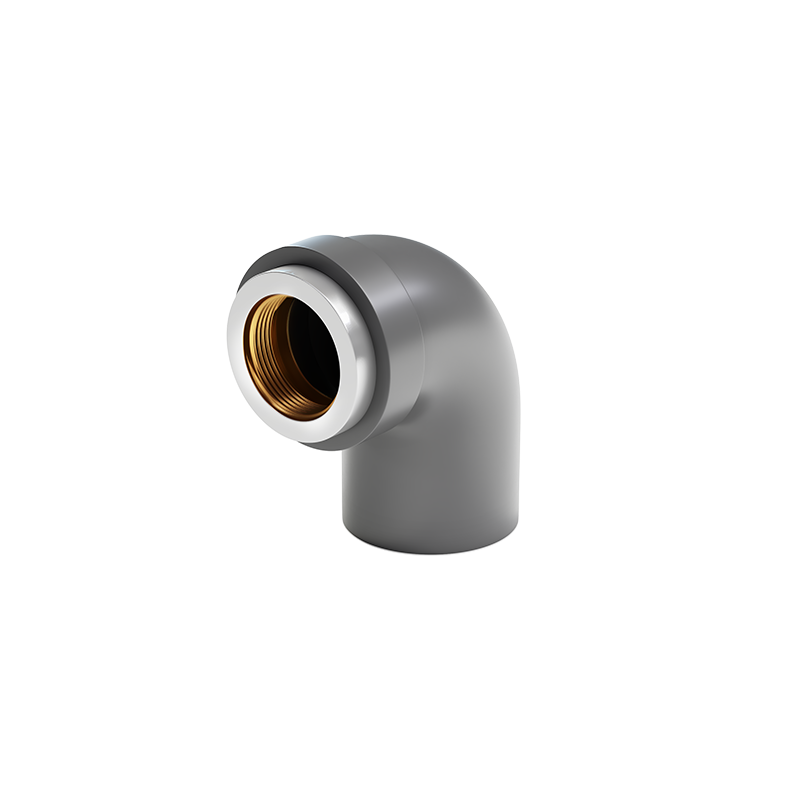 Elbow with Female Threaded Brass Insert