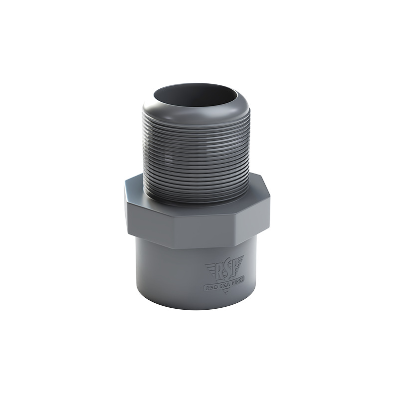 Threaded Plastic Male Coupling